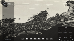 INK -desktop design by ryujin2490