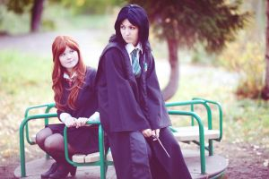 Severus and Lily ~ Ein Tag des Herbstes by OriyaPrince