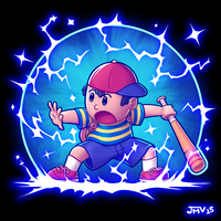 Ness - PSI Magnet by Kaigetsudo