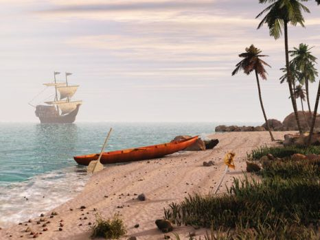 Pirate Landings by the-tracer