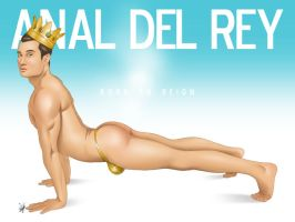 Sexy Asian Male Pinup - Anal Del Rey by eddiechin