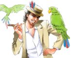 Jose Carioca and his parrots by harakirimushi