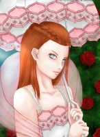 Rule Of Rose: Diana as Dahlia Hawthorne by WhiteQueen94