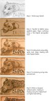 Pyrography Badge Tutorial by Foxfeather248