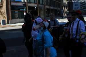 Boston Zombie March 2014 - Zombie March 12 by VideoGameStupid