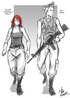 Red Queen_short movie character sketches by Andante2