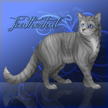 Feathertail of RiverClan by TheMoonfall