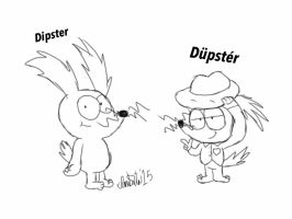 Dipster's Alter Ego by TheIransonic
