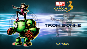Marvel VS Capcom 3 Tron Bonne by CrossDominatriX5