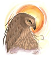Eagle (speed paint) by valhadar