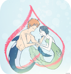 ICHIRUKI WEEK DAY 1: free! au by Allicei