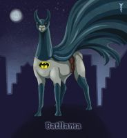 Daily Llama Project - Batllama by TrollGirl