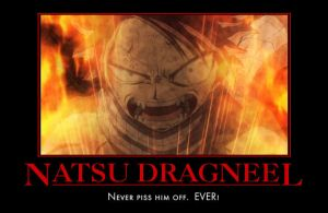 Fairy Tail Angry Natsu by Onikage108