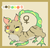 Species design for auction by Cushies