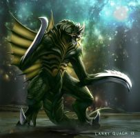 Gigan Final Organic Form by NoBackstreetboys