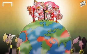 Bayern on top of the World by OmarMomani