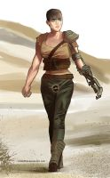 All Hail Furiosa! by CerboPhix