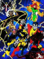The X-Men by wjh1170