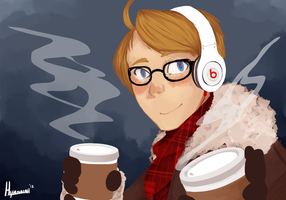 Cold Morning by Hyannah