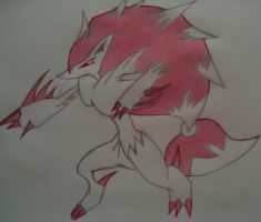 Zoroark by Asparticus