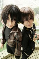 Code Geass--Brothers by herotenka