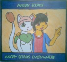 ANGRY BIRDS :3 by jancy15