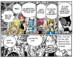 Fairy Tail Natsu Lucy by K6mil