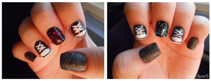 Converse Nails by Ebony-Rose13