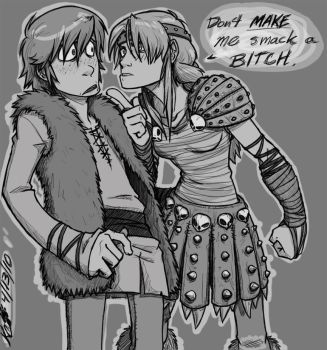 :HTTYD: Smack my bitch up... by RegentShaw