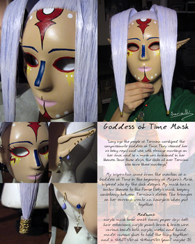 Goddess of Time Mask by Sarinilli