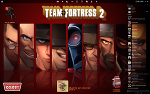 My Team Fortress Desktop. by Ramiroquai