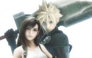 Tifa and Cloud by nasiamarie88