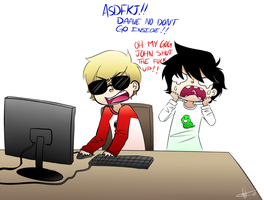 Homestuck - Slender by W-i-s-s-l-e-r
