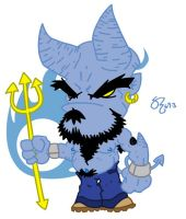 Rocky da Blue Devil by shane613