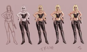 Trish_Painting Timeline by pandatails