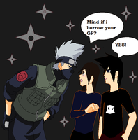 Meeting Kakashi by moranagon