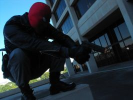 Red Hood has you in his sight by TS-Calibrate