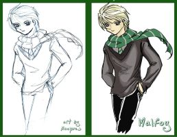 Malfoy Stylish Walk by hacques