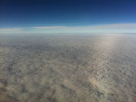 Flying above the clouds by Fennrick