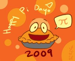 Happy Pi Day 2009 by Netaro