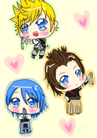 Lucky Charms- KH BBS by Tsukahime