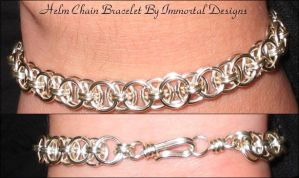 Helm Chain Bracelet by immortaldesigns