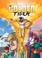 The Golden Tiger Cover by RDComics
