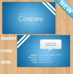 Baby Blue Business Card by HarryKirkby