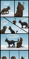 Cakes And Lies - OmegaBearBeast's Birthday Present by SilverMoonNightMist