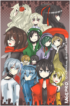 KagePro: All of us by erichankun
