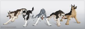Ginga Densetsu Weed: Russian Dogs by FlannMoriath