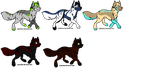 Canine Adoptables -Open- by jellybean12365