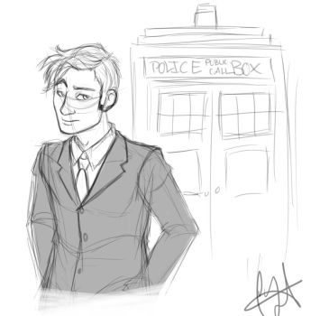 The Tenth Doctor by antoinette721