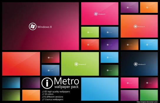 Metro wallpaper pack by snipes2